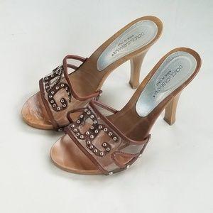 DOLCE & GABBANA Wood Heels